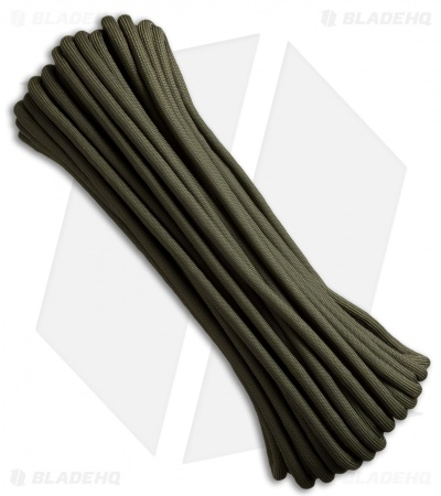 War Ready Battle Cord OD Green 7-Strand Core (50') USA