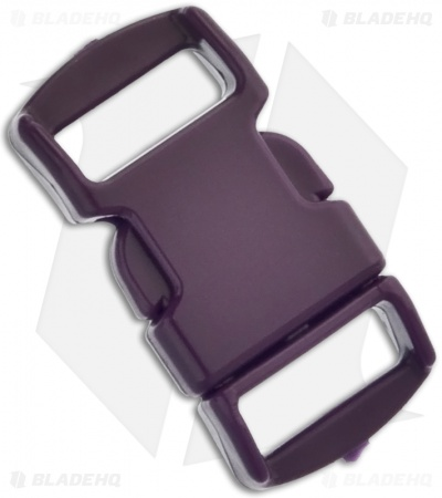 "Knottology 3/8"" Plastic Knot Clip Buckle (Maroon)"