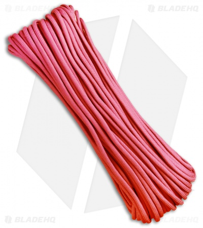 Atwood Rope Mfg. 550 Lb. Paracord 100 Ft. 7 Strand Core (Baby Pink) RG1029H