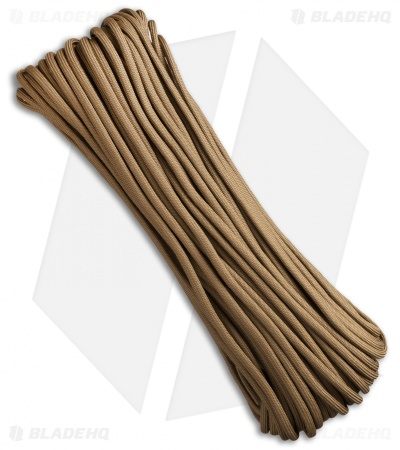 Atwood 550 Lb. Paracord 100 Ft. 7 Strand Core (Coyote)