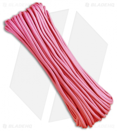 Atwood Rope Mfg. 550 Lb. Paracord 100 Ft. 7 Strand Core (Pink) RG1024H