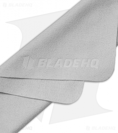 "Blade HQ Embossed Gray Polishing Cloths (5.75"" x 6.75"")"