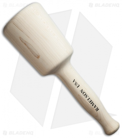 UJ Ramelson Rock Maple Woodworking Mallet