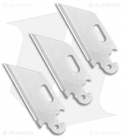 "Cold Steel Click-N-Cut Replacement Blade  3 Pack (2.5"" Reverse Tanto) 40AP3B"