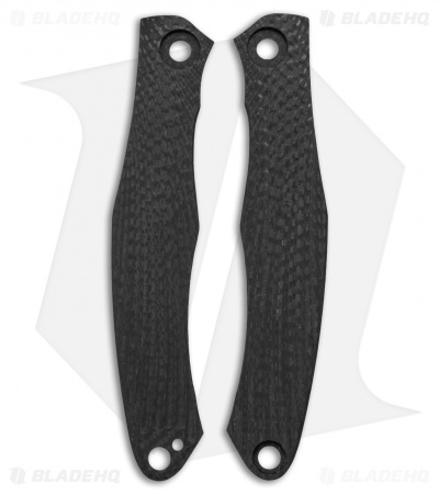 Custom Knife Factory Trekoza Replacement Scales - Carbon Fiber
