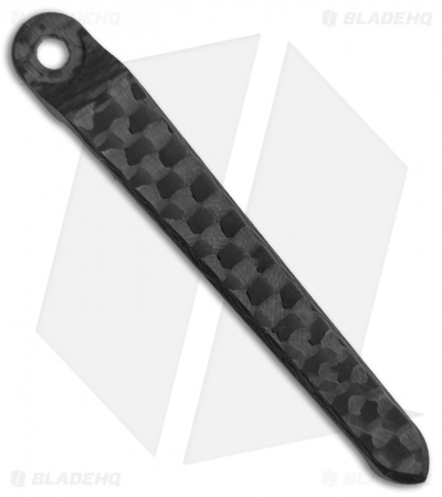 Millit Knives Machined CRK Pocket Clip - Carbon Fiber