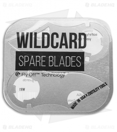 Zootility Tool WildCard Spare Replacement Blades (Set of 2)