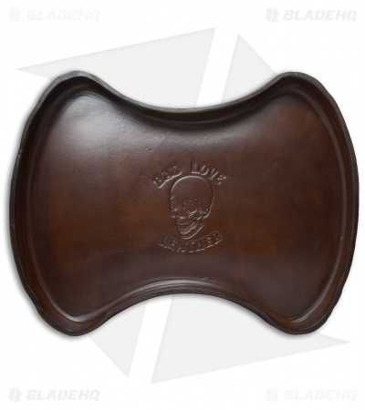 Bad Love Leather Brown Leather Valet Tray