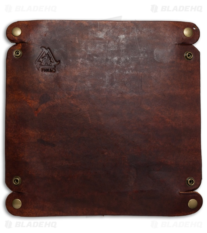 Fire Hall Knife Amp Leather Valet Tray Blade Hq
