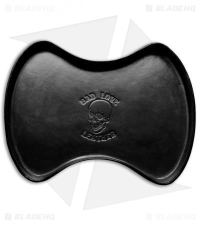 Bad Love Leather Black Leather Valet Tray