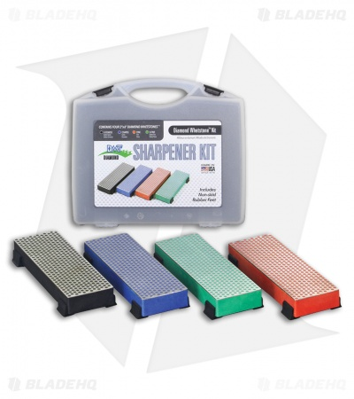 DMT 4-Piece Diamond Whetstone Sharpener Kit