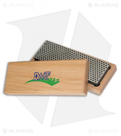 "DMT 6"" Diamond Whetstone Sharpener w/ Hardwood Box Extra Coarse W6X"