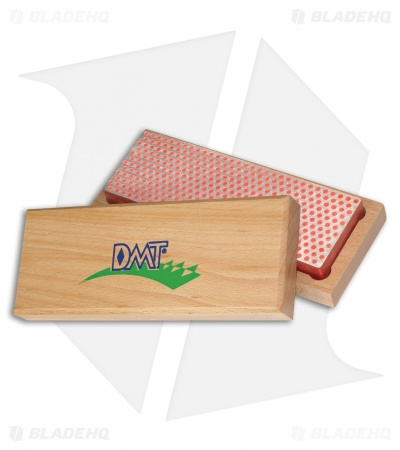 "DMT 6"" Diamond Whetstone Sharpener w/ Hardwood Box Fine W6F"