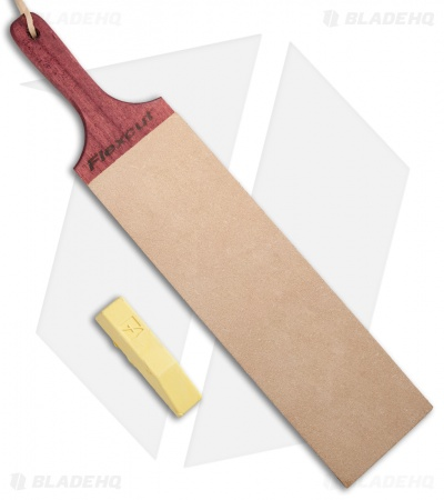 "Flexcut 10"" x 3"" Dual-Sided Paddle Strop PW16"