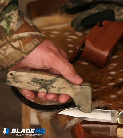 AccuSharp Camouflage Knife & Tool Sharpener