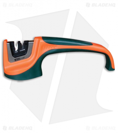 Accusharp Pull-Through Knife Sharpener 2-Stage (Green/Orange)