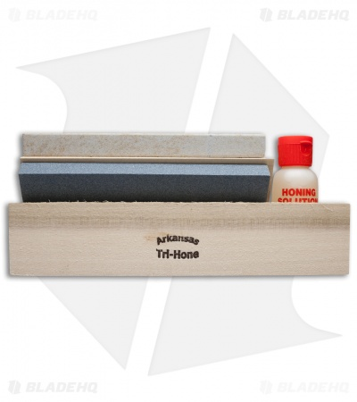 Arkansas Tri-Hone Sharpening Set (AC21)