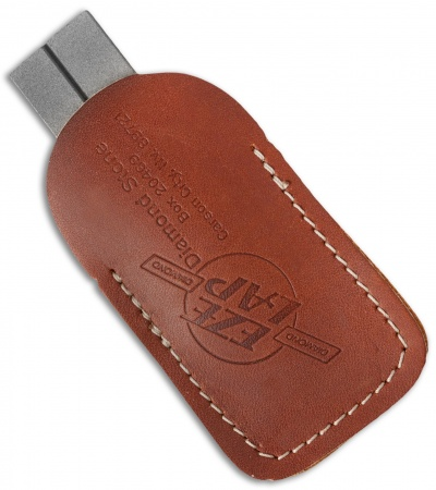 EZ Lap Diamond Pocket Sharpener w/Leather Case (26F)