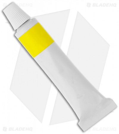 Linder Yellow Paste Tube for Leather Strops