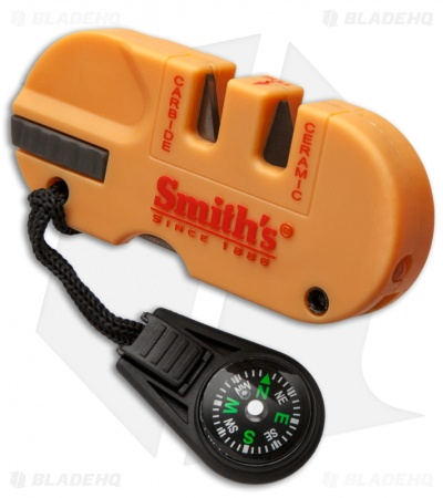 Smith's Pocket Pal X2 Sharpener & Survival Tool w/ LED Light 50364