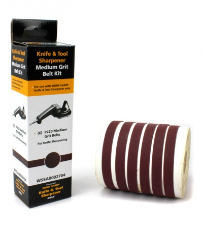 Darex Work Sharp Knife & Tool Sharpener Medium Grit Belt Kit (P220) WSSA0002704