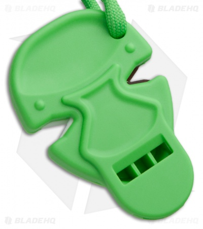 Zombie Nick Knife Sharpener & Whistle (Green)