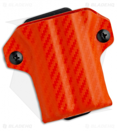 Clip & Carry Kydex Sheath Keychain for Gerber Suspension (Orange CF)
