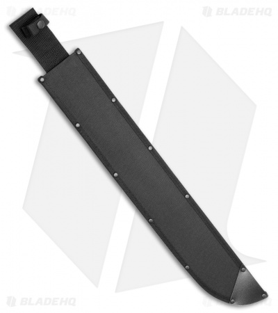 "Cold Steel 21"" Latin Machete Nylon Sheath (Black) SC97AM21"