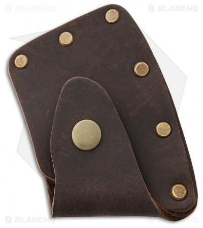 "Prandi Leather Axe Blade Cover for 14"" German Style Hatchet"