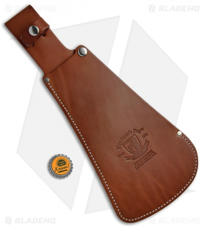The Original Woodman's Pal Treated Leather Sheath for Model 481