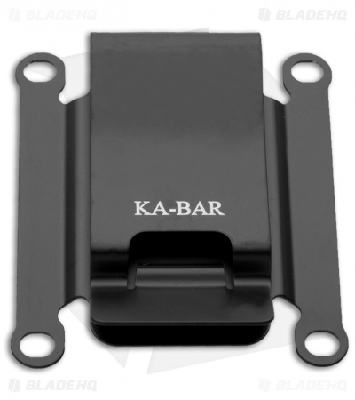 "Ka-Bar 2.5"" TDI Accessory Metal Belt Clip for TDI Knives 08-1480"