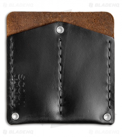 Scout Leather Co. Pocket Protector Black CXL Leather