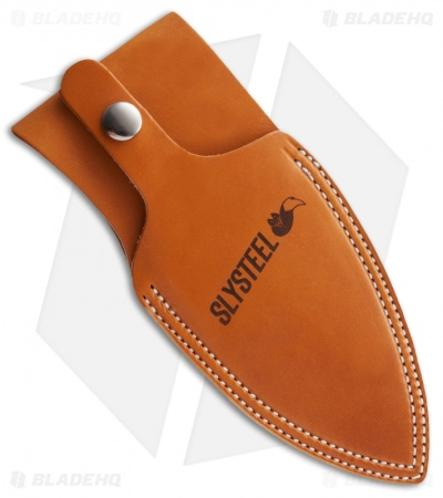 SLYSTEEL Leather Sheath for Shark Tooth Hunter I (Natural)