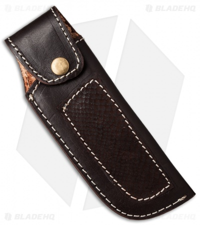 "Venture 7.75"" V114B Leather Fixed Blade Belt Sheath Brown"