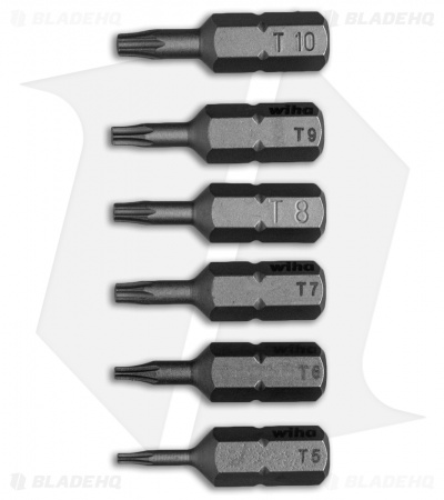 Wiha Tools 6 Piece Torx Bit Set - 71570