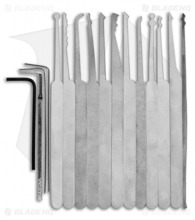 Lock Pick Set Deluxe Beginner