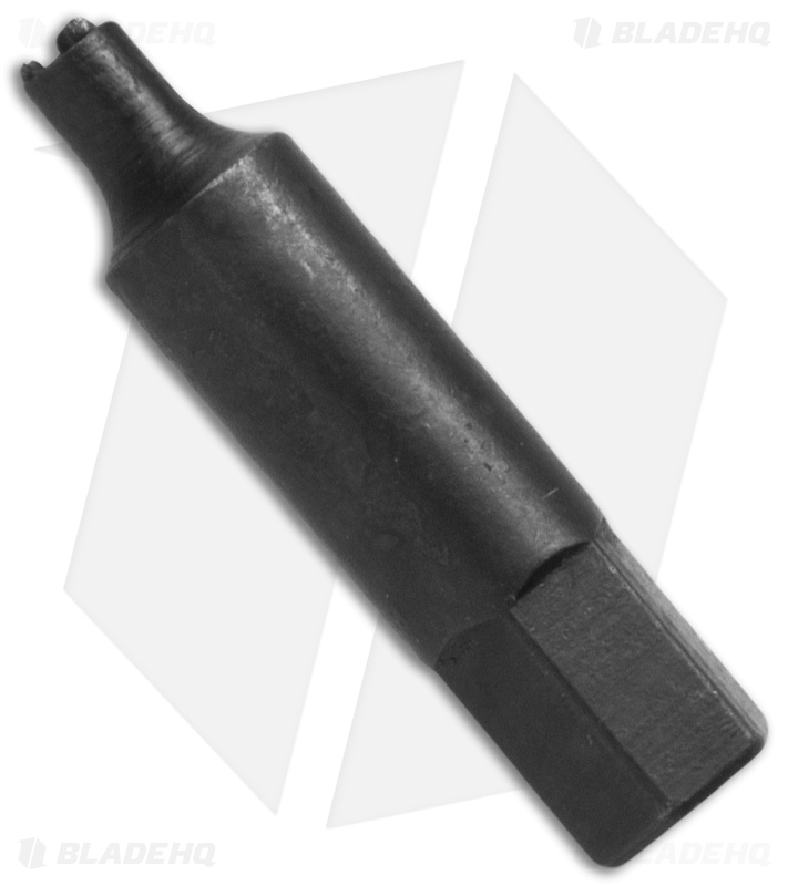 Microtech Medium Domed Tri-Wing Wrench Tool Bit