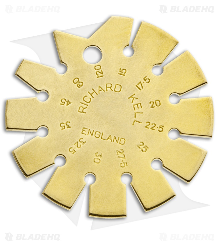 Richard Kell Solid Brass Bevel Gauge