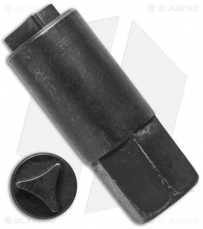 "Small Tri-Angle 1/4"" Drive Bit for Microtech Knives"
