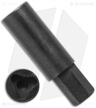 "Extra Large Tri-Angle Socket 1/4"" Drive Bit for Microtech"