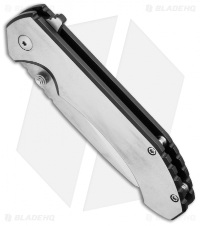 Aegis Knife Works Hoplite Midtech Flipper Ti (Bi-Tone Graphite Black & Satin)