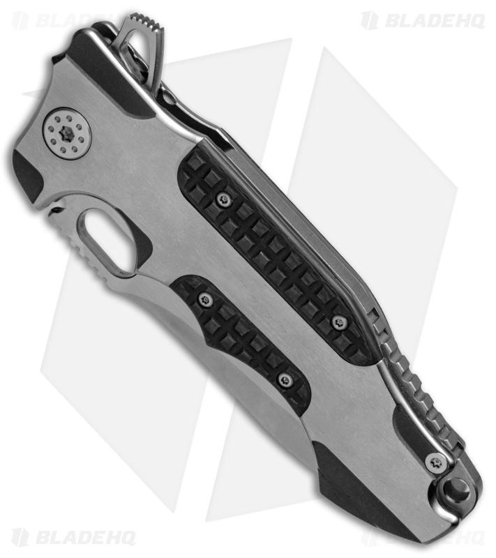 Andre De Villiers Hummer Flipper Knife Titanium Carbon