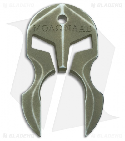 Andre de Villiers AdV Tactical Spartan Knuck - Green Finished Titanium