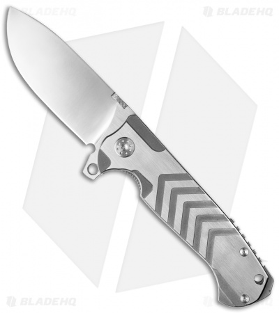 Andre de Villiers Mid-Tech TrailBoss Knife Arrow Titanium AdV **Discounted