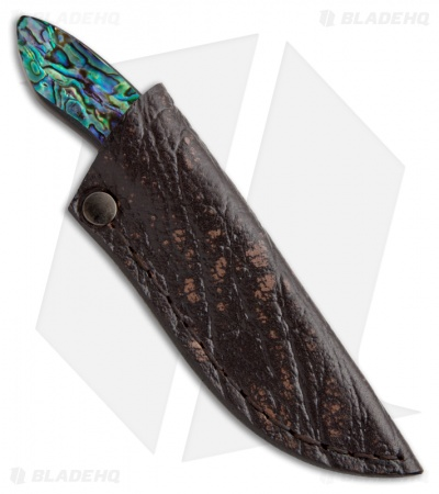 "Arno Bernard Knives Meerkat Fixed Blade Knife Paua Abalone (2.375"" Satin)"