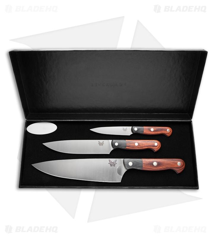Benchmade Kitchen Knives Gold Class Prestigedges Chef Set 4501