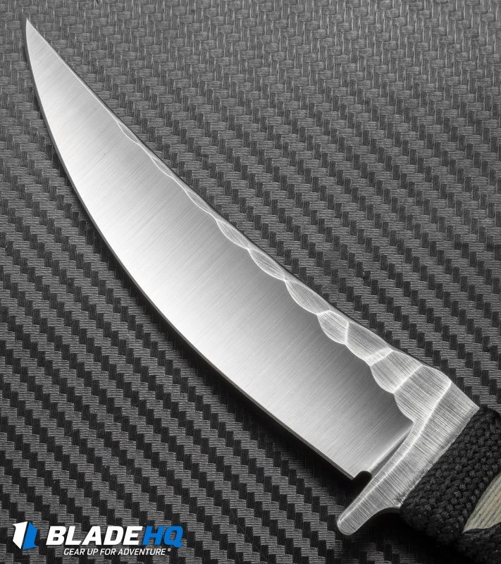 "borka blades sbk fixed blade knife katana style wrap (3"" stonewash"