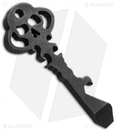 Chaves Knives Custom Skeleton Key Tool w/ Keyring Hole - D2 Steel
