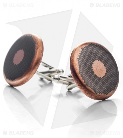 Chuck Gedraitis Copper/Niobium Superconductor Cuff Links