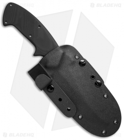 "Crawford Custom Kasper Scorpion Fixed Blade Knife (4.5"" Satin Plain)"